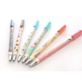 MOMOs blog pattern color gel pen 0.35mm