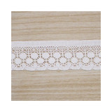 white cotton lace roll tape - 29