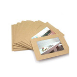 3X5 Kraft paper photo frame set of 30 sheets