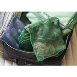 Green - Travelus large mesh pouch ver.2