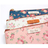 Pour vous flower pattern slim pencil case