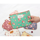 Medium - Pour vous flower pattern clutch bag medium