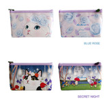 Colors of Choo Choo cat lalala zipper pouch