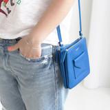 Blue - Pochette daily point cross body bag