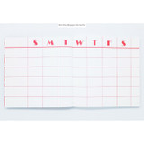 Monthly - Bonne chance simple pineapple undated planner