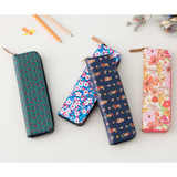 Pattern handy zipper pencil case