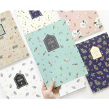 Fill the blank lovable pattern lined notebook
