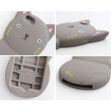 Detail of Monomate cute cat iPhone 6 jelly case