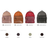Colors of Harmony mix match leather backpack