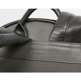 Detail of Harmony mix match leather backpack