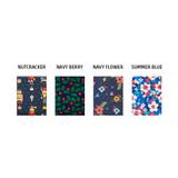 Patterns of Pattern middle zipper slim pouch