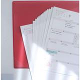 Monthly undated planner scheduler paper with desk mat