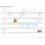 Monthly scheduler