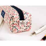 Detail of Pour vous melody square zipper pencil case