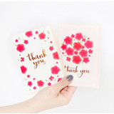 Thank you very message card