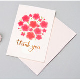 Pink - Thank you very message card