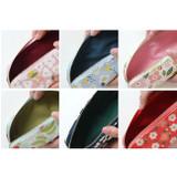 Detail of Breezy windy semo flower pattern pencil case