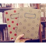 Penguin loves mev plain notebook ver.2