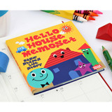 Hello house sticky memo note set