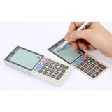 Electronic calculator memo pad