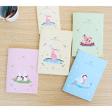 Animal friends memory lined and plain notebook
