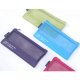 Life is beautiful travel slim mesh pouch
