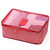 Pattern travel clothes mesh bag packing aids - Small
