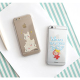 Hellogeeks Clear PC case cover for iPhone 6