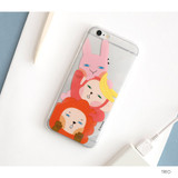 Trio - Hellogeeks Clear PC case cover for iPhone 6