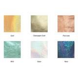 Colors of Aurora glitter small card case