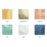 Colors of Aurora glitter square crossbody bag