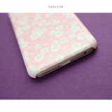 Hana pink - Promenade pattern phone case for iPhone 6