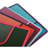Detail of Classy plain RFID blocking mini passport case