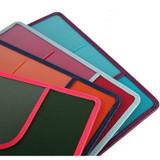 Detail of Classy plain RFID blocking long passport case