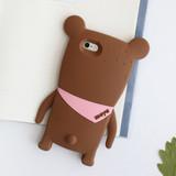 Choco - Monowave cute bear moya iPhone 6 jelly case