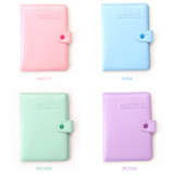 Colors of 365 Traveler pastel passport case