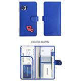 Oultra marin - Merrygrin RFID blocking long passport case
