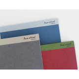 Baum simple A5 size plain notepad