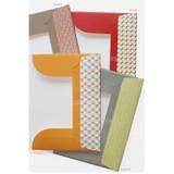Patterns of Story on geometric pattern file folder