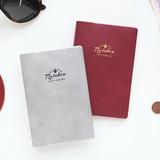 Travel rainbow passport cover case