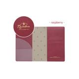 Raspberry - Travel rainbow passport cover case