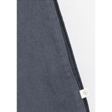 Detail of Linen 2 rectangle eco basket tote bag