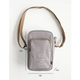 Size of Walking cooler crossbody shoulder bag