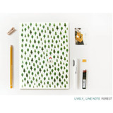 Forest - Pattern lively lined notebook