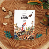 Nature animal picture postcard set