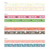 Hellogeeks pattern washi masking tape set