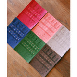 Days Synthetic leather adhesive index tab sticker