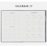 Calendar - 2016 Table talk B6 dated monthly planner