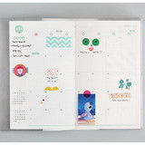Monthly plan - 2016 Som Som dated diary