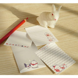 Winter - Molang cute pattern sticky note